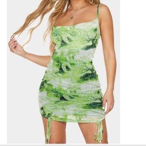 Like New! PLT Dragon🐉Mesh Runch Dress